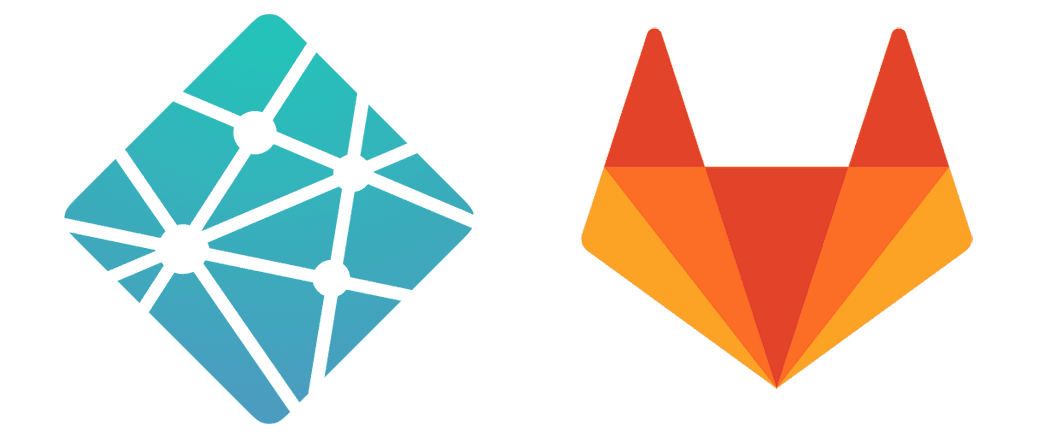 Netlify and Gitlab Logos